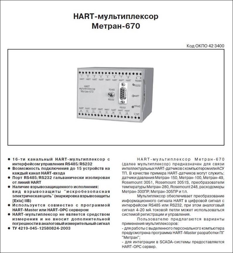 Hart Master для метран скачать программу - фото 10